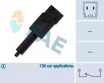 FAE 24495 - Выключатель фонаря сигнала торможения autodnr.net