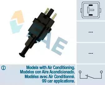 FAE 24500 - Выключатель фонаря сигнала торможения car-mod.com