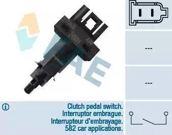 FAE 24591 - Выключатель, привод сцепления (Tempomat) car-mod.com