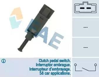 FAE 24772 - Выключатель, привод сцепления (Tempomat) autodnr.net