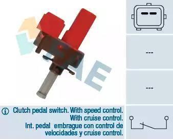 FAE 24845 - Выключатель, привод сцепления (Tempomat) autodnr.net
