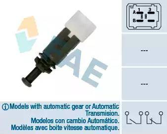 FAE 24895 - Выключатель фонаря сигнала торможения avtokuzovplus.com.ua