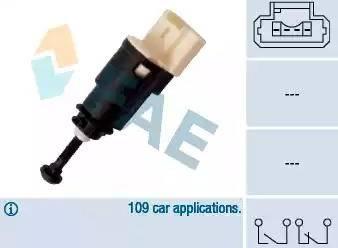 FAE 24903 - Выключатель фонаря сигнала торможения car-mod.com