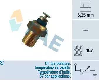 FAE 32200 - Датчик, температура масла autodnr.net