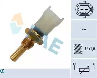 FAE 33480 - Датчик, температура охлаждающей жидкости autodnr.net