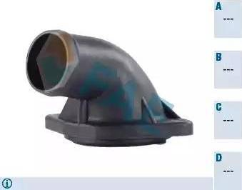 FAE 54301 - Фланец охлаждающей жидкости car-mod.com