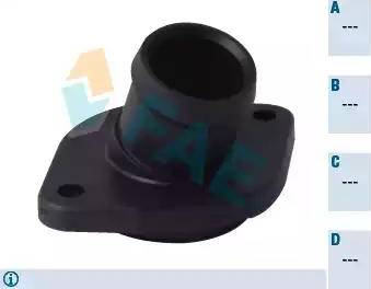 FAE 54333 - Фланец охлаждающей жидкости car-mod.com