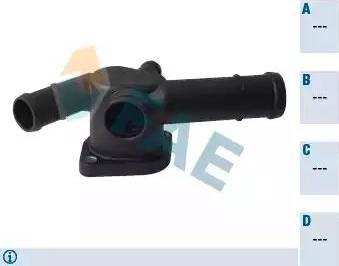 FAE 54375 - Фланец охлаждающей жидкости car-mod.com