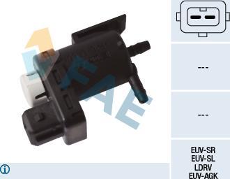 FAE 56051 - Переключающийся вентиль, заслонка выхлопных газов car-mod.com