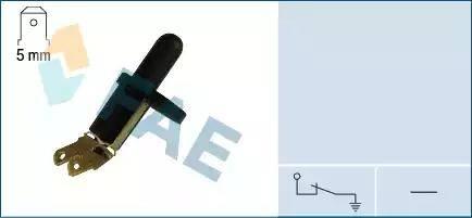 FAE 67210 - Выключатель, контакт двери avtokuzovplus.com.ua
