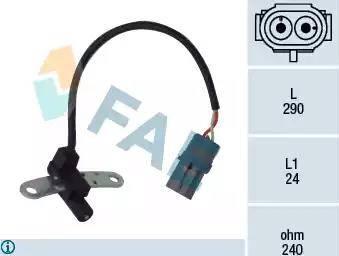 FAE 79021 - Датчик импульсов, коленвал car-mod.com