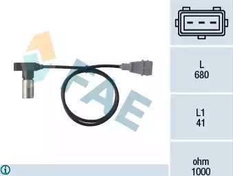 FAE 79098 - Датчик импульсов, коленвал avtokuzovplus.com.ua