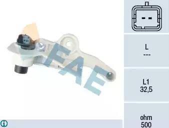 FAE 79119 - Датчик импульсов, коленвал car-mod.com