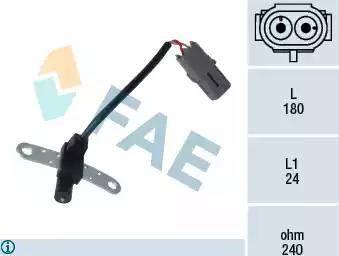 FAE 79144 - Датчик импульсов, коленвал car-mod.com