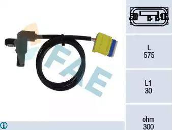 FAE 79223 - Датчик частоты вращения, автоматическая коробка передач autodnr.net