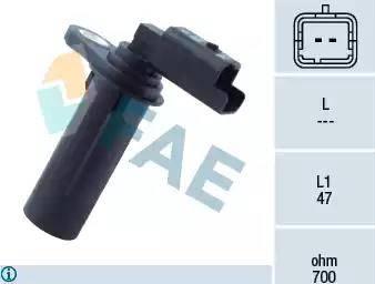 FAE 79251 - Датчик частоты вращения, ступенчатая коробка передач car-mod.com