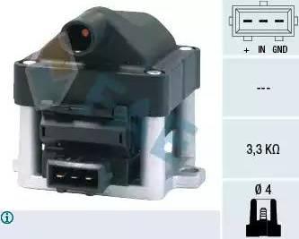 FAE 80200 - Катушка зажигания avtokuzovplus.com.ua