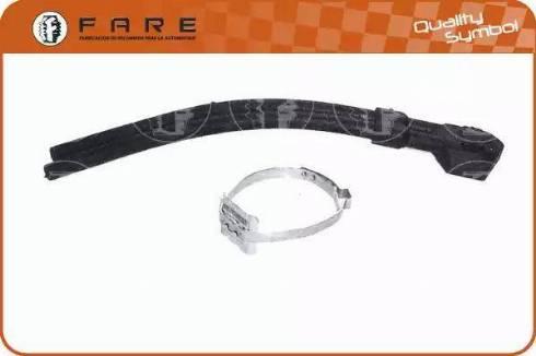 FARE SA 1007 - Шланг радиатора car-mod.com