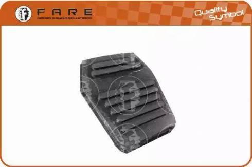 FARE SA 10248 - Педальные накладка, педаль тормоз autodnr.net