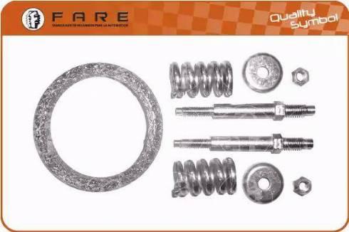 FARE SA 2235 - Комплект прокладок, система випуску ОГ autocars.com.ua