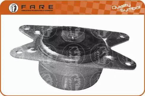 FARE SA 2801 - Подушка, підвіска двигуна autocars.com.ua