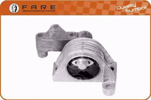 FARE SA 2812 - Подушка, підвіска двигуна autocars.com.ua