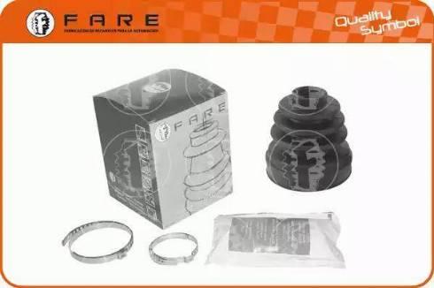 FARE SA K14549 - Комплект пылника, приводной вал autodnr.net