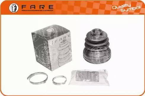 FARE SA K4554 - Комплект пылника, приводной вал autodnr.net