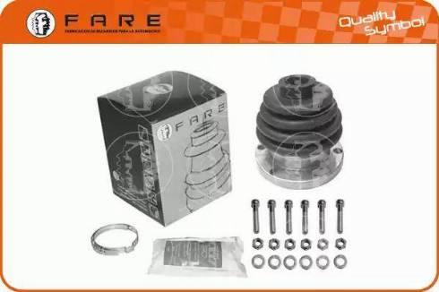 FARE SA K728 - Комплект пылника, приводной вал autodnr.net
