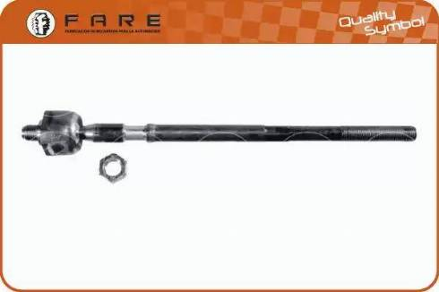 FARE SA RA010 - Осьовий шарнір, рульова тяга autocars.com.ua