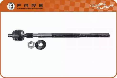 FARE SA RA011 - Осьовий шарнір, рульова тяга autocars.com.ua