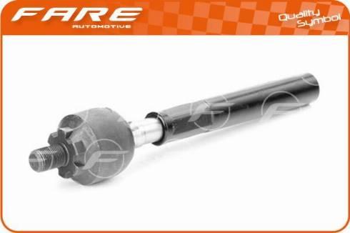 FARE SA RA051 - Осьовий шарнір, рульова тяга autocars.com.ua