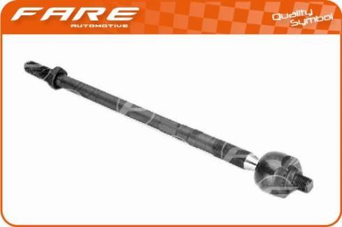 FARE SA RA062 - Осьовий шарнір, рульова тяга autocars.com.ua