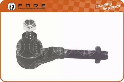 FARE SA RD077 - Наконечник рульової тяги, кульовий шарнір autocars.com.ua
