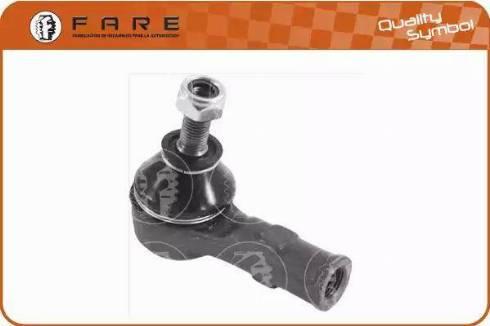 FARE SA RD111 - Наконечник рульової тяги, кульовий шарнір autocars.com.ua