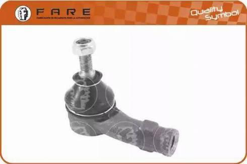 FARE SA RD124 - Наконечник рульової тяги, кульовий шарнір autocars.com.ua