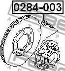 Febest 0284003 - Болт крепления колеса avtokuzovplus.com.ua