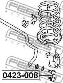 Febest 0423-008 - Тяга / стойка, стабилизатор car-mod.com