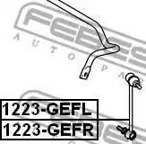 Febest 1223-GEFR - Тяга / стойка, стабилизатор car-mod.com