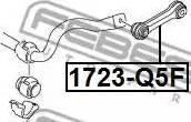 Febest 1723-Q5F - Тяга / стойка, стабилизатор car-mod.com