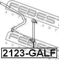 Febest 2123-GALF - Тяга / стойка, стабилизатор car-mod.com