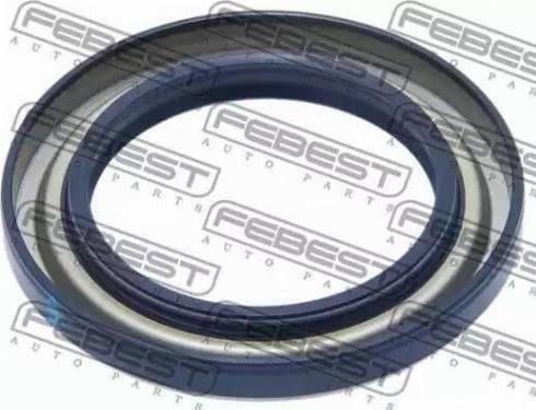 Febest 95GAS49720808X - Уплотнительное кольцо вала, приводной вал autodnr.net