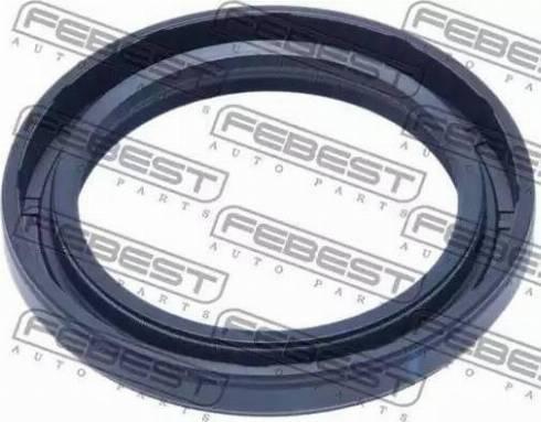 Febest 95GAY43580707X - Уплотнительное кольцо вала, приводной вал autodnr.net