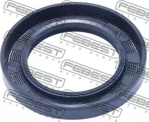 Febest 95GAY48741010X - Уплотнительное кольцо вала, приводной вал autodnr.net