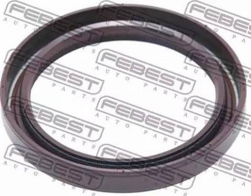 Febest 95GBY50640808R - Уплотнительное кольцо вала, приводной вал autodnr.net