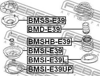 Febest BMSS-E39 - Элементы крепления амортизатора car-mod.com