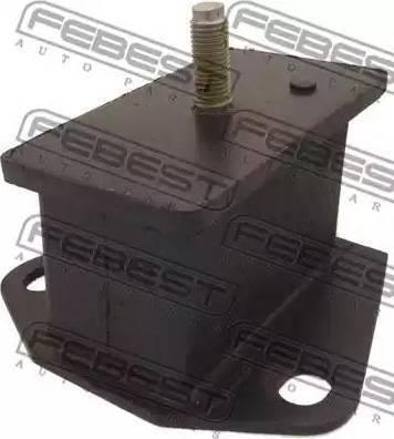 Febest mm02 - Подвеска, двигатель autodnr.net