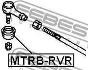 Febest MTRBRVR - Ремкомплект, наконечник поперечной рулевой тяги avtokuzovplus.com.ua