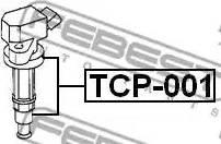 Febest TCP-001 - Вилка, катушка зажигания autodnr.net