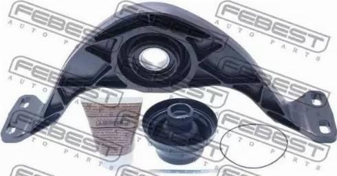Febest VWCB-TIG - Подшипник карданного вала, промежуточный/подвесной car-mod.com